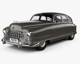 Nash Ambassador 1949 3D model