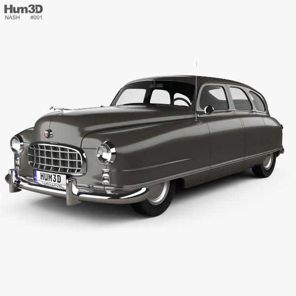 3D model of Nash Ambassador 1949