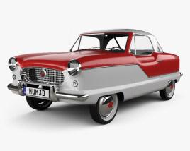 3D model of Nash Metropolitan 1956