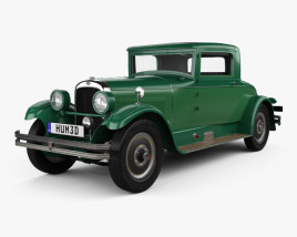 3D model of Nash Advanced Six 260 coupe 1927