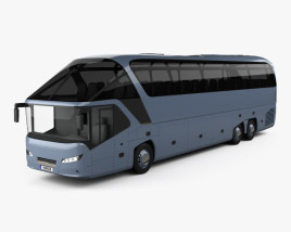 3D model of Neoplan Starliner SHD L Bus 2006