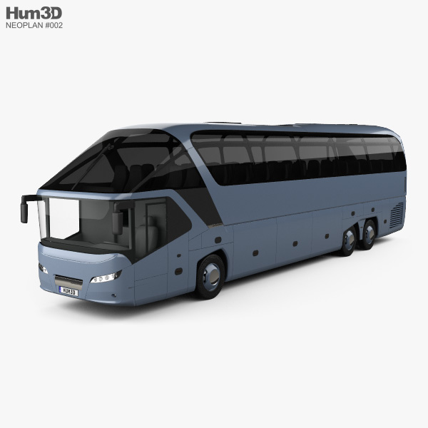 Neoplan Starliner SHD L Bus 2006 3D model