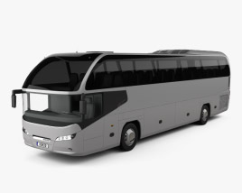 3D model of Neoplan Cityliner HD Bus 2006
