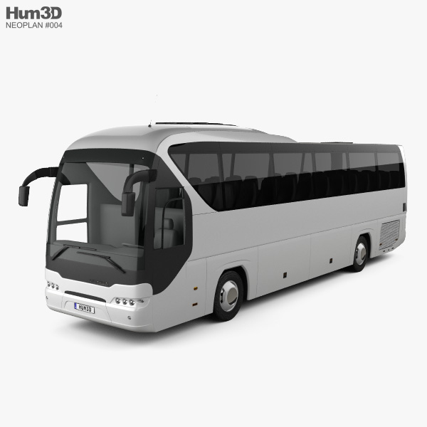 Neoplan Tourliner SHD Bus 2007 3D model