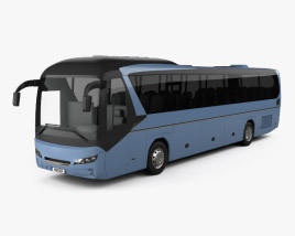 3D model of Neoplan Jetliner Bus 2012