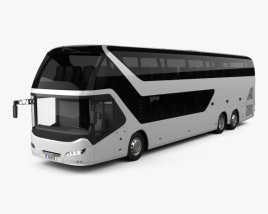 3D model of Neoplan Skyliner Bus 2010