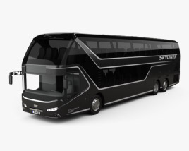 3D model of Neoplan Skyliner Bus 2015