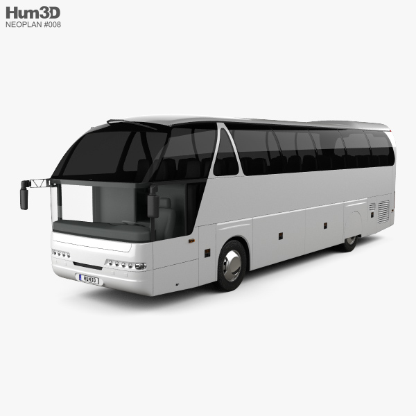 Neoplan Starliner N 516 SHD Bus 1995 3D model