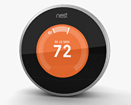 3D model of Nest Thermostat
