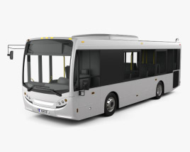 3D model of New Flyer MiDi Bus 2016