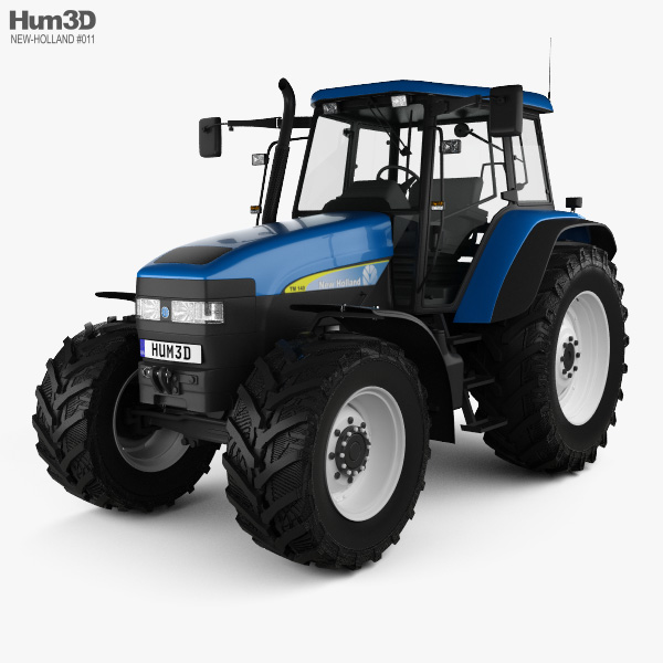 New Holland TM 140 2019 3D model