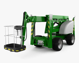 3D model of Articulated Boom Lift