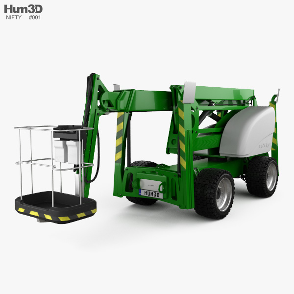 3D model of Nifty SD210 4x4x4 Self Drive Work Platform 2018