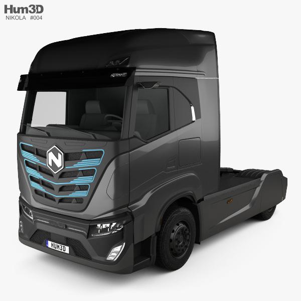 Nikola TRE Tractor Truck 2020 3D model