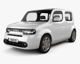 3D model of Nissan Cube 2010