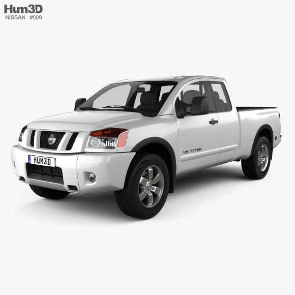 3D model of Nissan Titan 2011