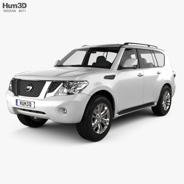 Nissan Patrol 2011 3D model