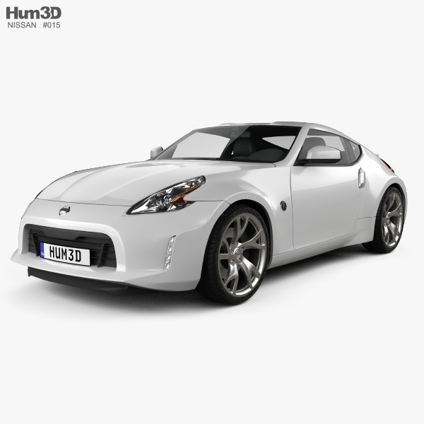 3D model of Nissan 370Z Coupe 2013