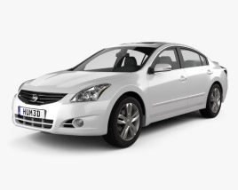3D model of Nissan Altima 2012