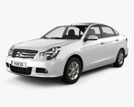 3D model of Nissan Almera (Sylphy) 2012