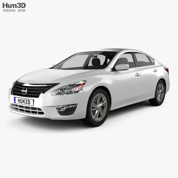3D model of Nissan Altima (Teana) 2013