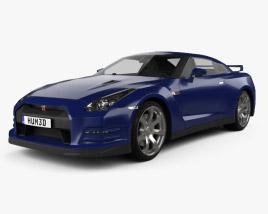 3D model of Nissan GT-R (R35) 2013