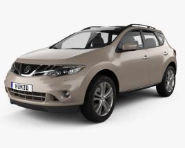 3D model of Nissan Murano (Z51) 2013