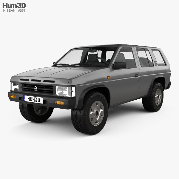 3D model of Nissan Terrano (Pathfinder) 1993