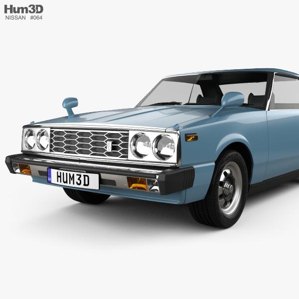 Nissan Skyline  C210  Gt Coupe 1977 3d Model