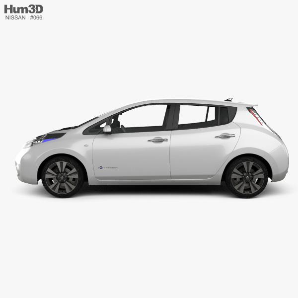 Nissan Leaf 2013 3D model