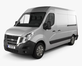 3D model of Nissan NV400 Panel Van 2010