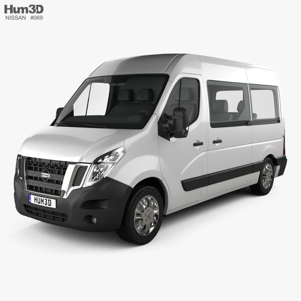 Nissan NV400 Passenger Van 2010 3D model