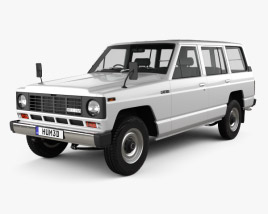 Nissan Patrol (160) 1980 3D model