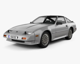 3D model of Nissan 300ZX (Z31) Turbo 1983