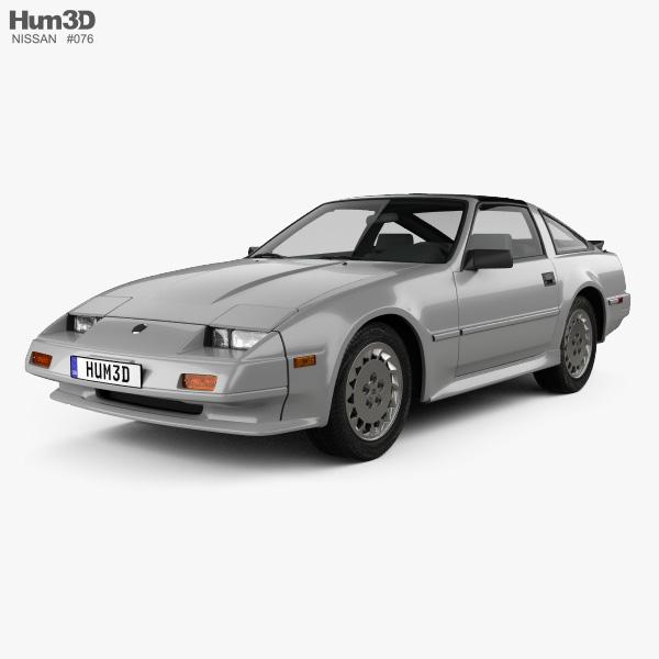 Nissan 300ZX (Z31) Turbo 1983 3D model