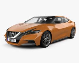 3D model of Nissan Sport Sedan 2013