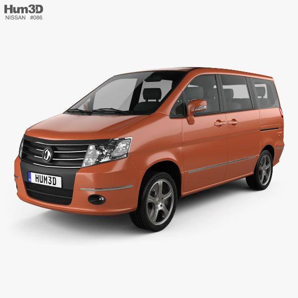 Nissan Shuaike 2011 3D model