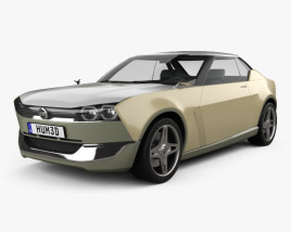 Nissan IDx Freeflow 2014 3D model
