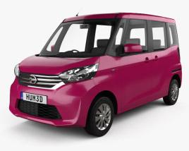 Nissan Dayz Roox 2013 3D模型