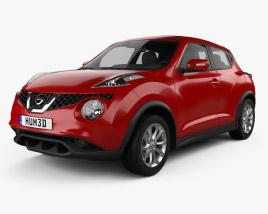 3D model of Nissan Juke 2015
