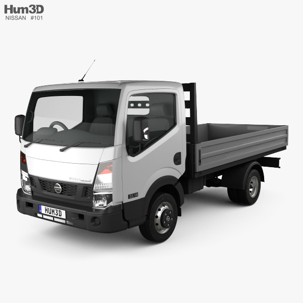 3D model of Nissan NT400 Dropside Truck 2014