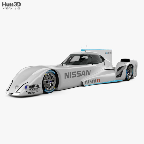 Nissan ZEOD RC 2014 3D model