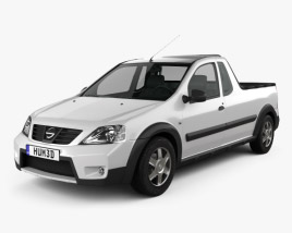 3D model of Nissan NP200 2009