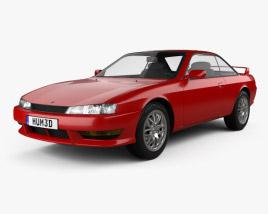 3D model of Nissan Silvia 1996