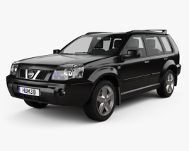 3D model of Nissan X-Trail 2004