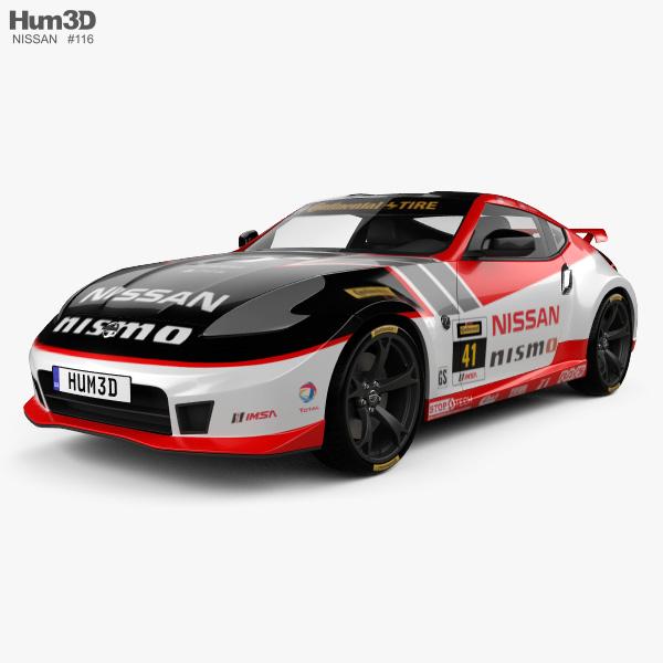 3D model of Nissan 370Z Nismo GT Academy 2009