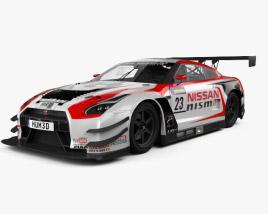 3D model of Nissan GT-R Nismo GT300 2015