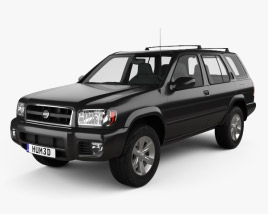 3D model of Nissan Pathfinder 2002