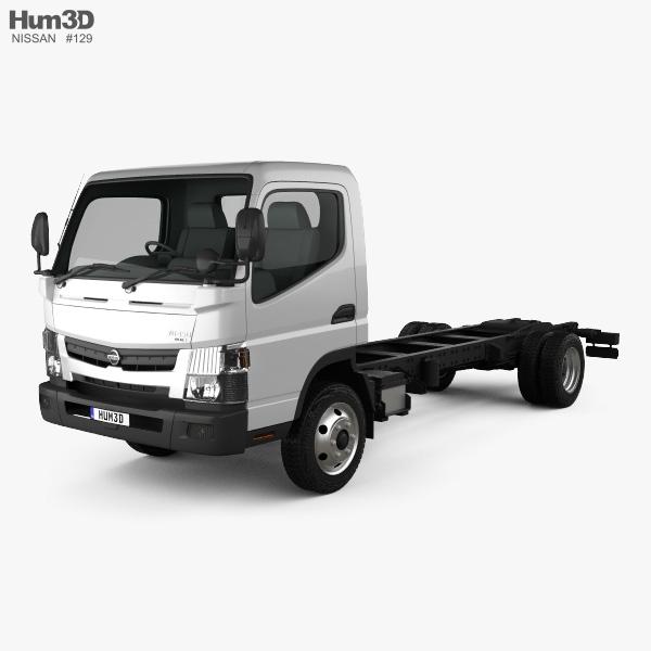 Nissan Atlas Chassis Truck 2012 3D model