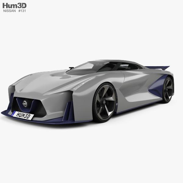 Nissan 2020 Vision Gran Turismo 2014 3D-Modell